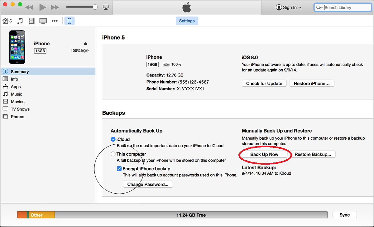 how to backup iphone to mac how to backup apple device using icloud itunes and third 18581
