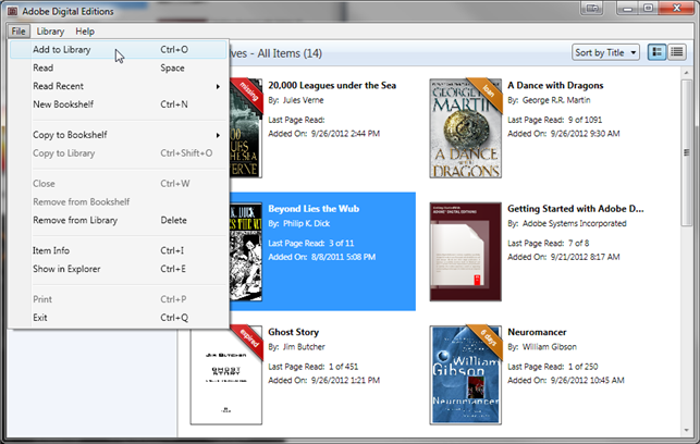How to open .EPub format files