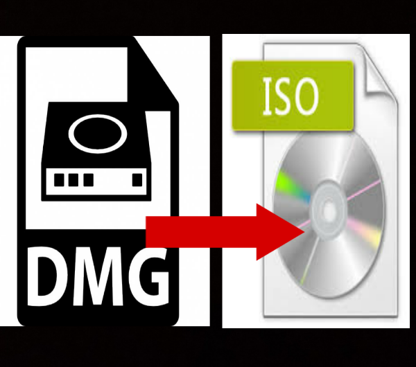How To Convert DMG Files To ISO Files On Windows